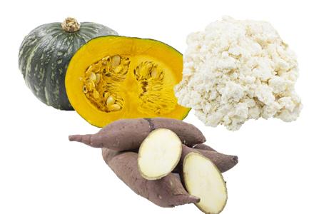 食物繊維が豊富な素材もおすすめ